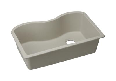 "Image for Elkay Quartz Classic 33"" x 20"" x 9-1/2"", Single Bowl Undermount Sink, Bisque from ELKAY"