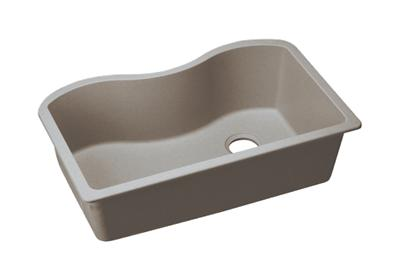 "Image for Elkay Quartz Classic 33"" x 20"" x 9-1/2"", Single Bowl Undermount Sink, Greige from ELKAY"
