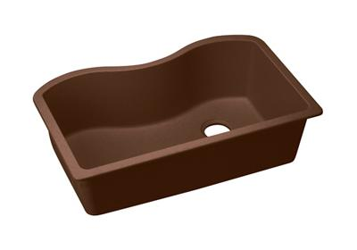 "Image for Elkay Quartz Classic 33"" x 20"" x 9-1/2"", Single Bowl Undermount Sink, Mocha from ELKAY"