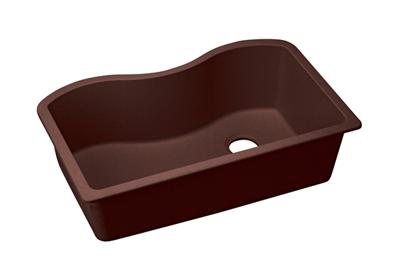 "Image for Elkay Quartz Classic 33"" x 20"" x 9-1/2"", Single Bowl Undermount Sink, Pecan from ELKAY"