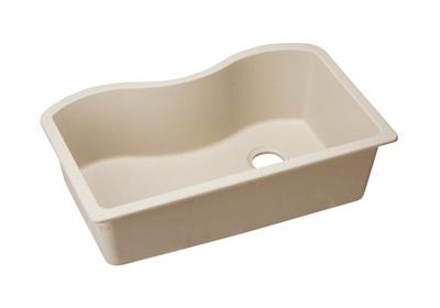 "Image for Elkay Quartz Classic 33"" x 20"" x 9-1/2"", Single Bowl Undermount Sink, Putty from ELKAY"
