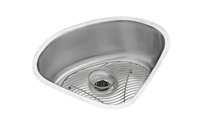 "Image for Elkay Lustertone Stainless Steel 14"" x 14"" x 6-3/8"", Single Bowl Undermount Sink Kit from ELKAY"