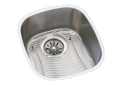 "Image for Elkay Lustertone Classic Stainless Steel 14-1/4"" x 15-3/4"" x 5-15/16"", Single Bowl Undermount Sink Kit from ELKAY"