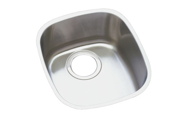 "Elkay Harmony Stainless Steel 14-1/4"" x 15-3/4"" x 5-15/16"", Single Bowl Undermount Sink Kit"