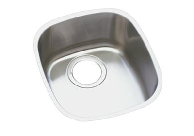 "Image for Elkay Lustertone Stainless Steel 14-1/4"" x 15-3/4"" x 5-15/16"", Single Bowl Undermount Sink from ELKAY"