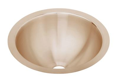 "Image for Elkay CuVerro Antimicrobial Copper 14-3/8"" x 14-3/8"" x 6"", Single Bowl Undermount Bathroom Sink from ELKAY"