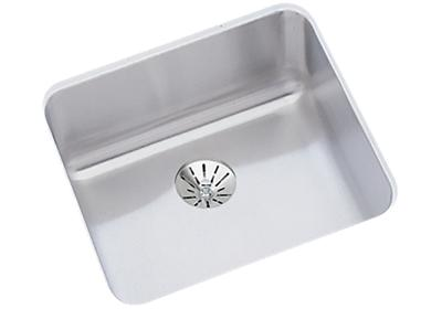 "Image for Elkay Lustertone Stainless Steel 14-1/2"" x 14-1/2"" x 7"", Single Bowl Undermount Sink with Perfect Drain from ELKAY"