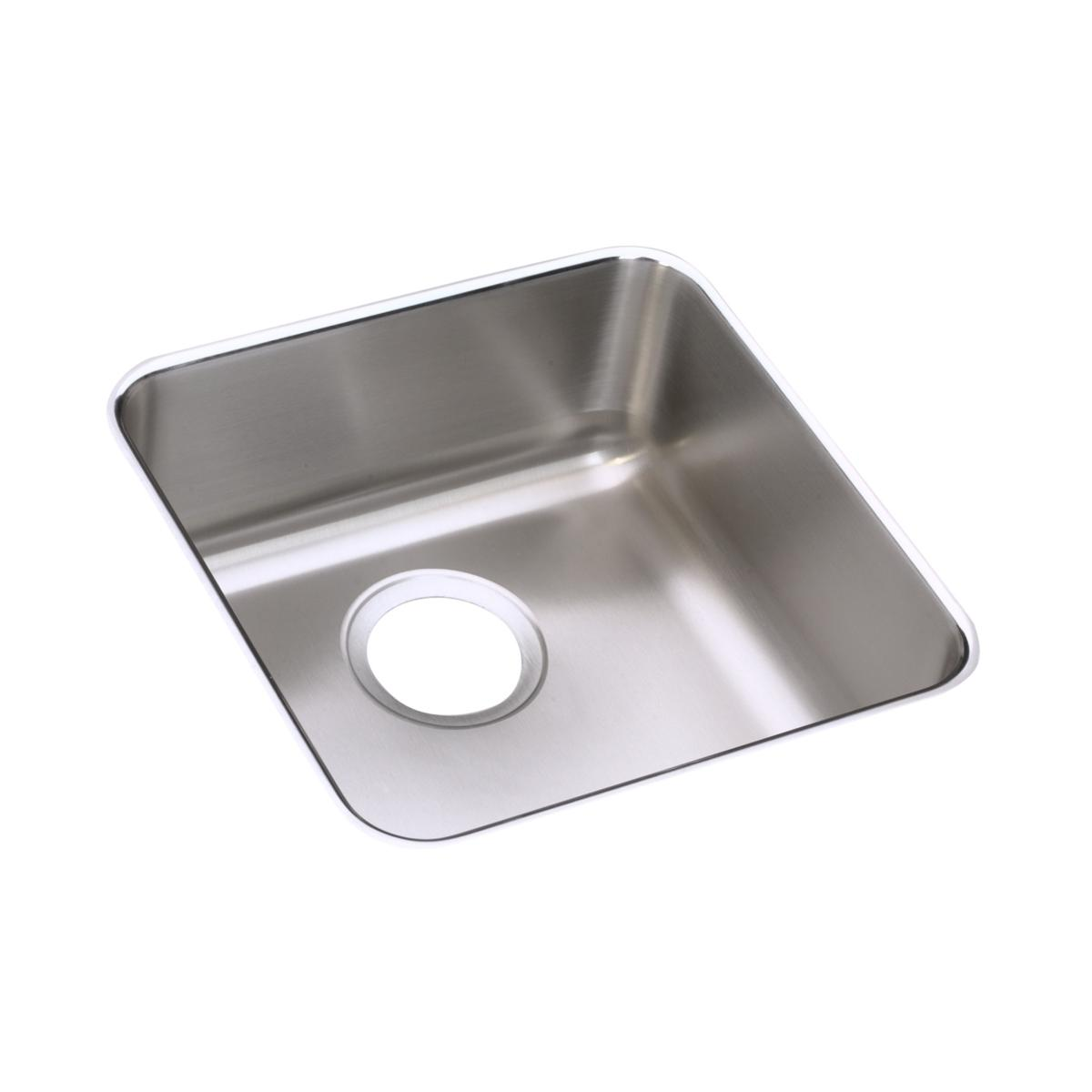 "Elkay Lustertone Classic Stainless Steel 14-1/2"" X 14-1/2"" X 5-3/8"", Single Bowl Undermount ADA Sink"