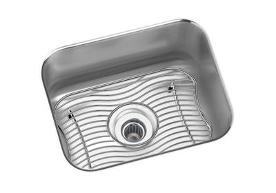 "Image for Elkay Lustertone Classic Stainless Steel 14-1/2"" x 11-3/4"" x 7"", Single Bowl Undermount Bar Sink Kit from ELKAY"