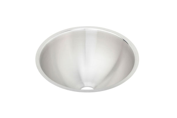 "Elkay Asana Stainless Steel 14-3/8"" x 14-3/8"" x 6"", Single Bowl Undermount Bathroom Sink"
