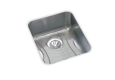 "Image for Elkay Lustertone Stainless Steel 16"" x 18-1/2"" x 7-7/8"", Single Bowl Undermount Sink Kit from ELKAY"