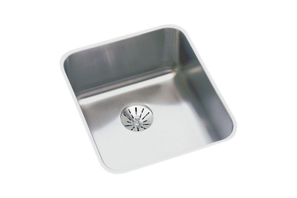 "Elkay Lustertone Stainless Steel 16"" x 18-1/2"" x 4-7/8"", Single Bowl Undermount ADA Sink with Perfect Drain"
