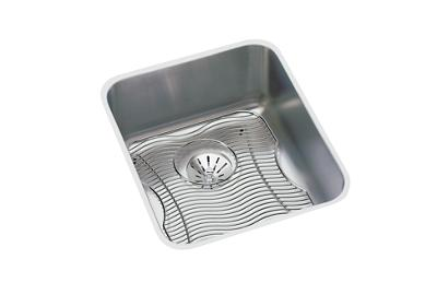 "Image for Elkay Lustertone Classic Stainless Steel 16"" x 18-1/2"" x 7-7/8"", Single Bowl Undermount Sink Kit with Perfect Drain from ELKAY"