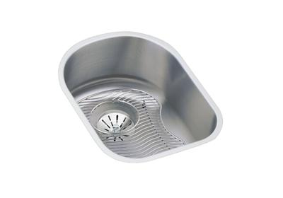 "Image for Elkay Lustertone Stainless Steel 14"" x 17-1/2"" x 7-1/2"", Single Bowl Undermount Sink Kit from ELKAY"