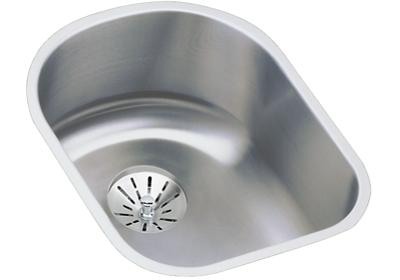 "Image for Elkay Lustertone Stainless Steel 14"" x 17-1/2"" x 7-1/2"", Single Bowl Undermount Sink with Perfect Drain from ELKAY"