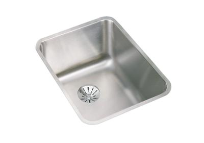"Image for Elkay Lustertone Stainless Steel 16-1/2"" x 20-1/2"" x 9-7/8"", Single Bowl Undermount Sink with Perfect Drain from ELKAY"