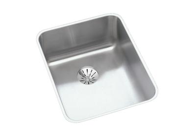 "Image for Elkay Lustertone Stainless Steel 16-1/2"" x 20-1/2"" x 5-3/8"", Single Bowl Undermount Sink with Perfect Drain from ELKAY"