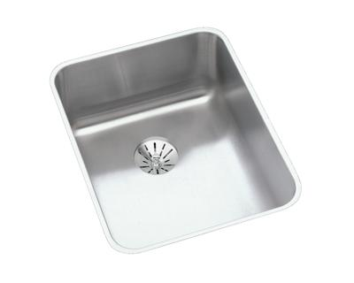Image for Gourmet (Lustertone) Stainless Steel Single Bowl Undermount Sink Kit from elkay-consumer