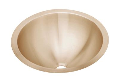 "Image for Elkay CuVerro Antimicrobial Copper 18-3/8"" x 18-3/8"" x 8"", Single Bowl Undermount Bathroom Sink from ELKAY"