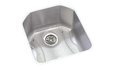 "Image for Elkay Lustertone Stainless Steel 18-1/2"" x 20-1/2"" x 9-1/2"", Single Bowl Undermount Sink Kit from ELKAY"