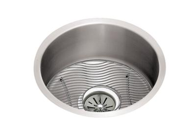 "Image for Elkay Lustertone Classic Stainless Steel 18-3/8"" x 18-3/8"" x 8"", Single Bowl Undermount Sink Kit from ELKAY"