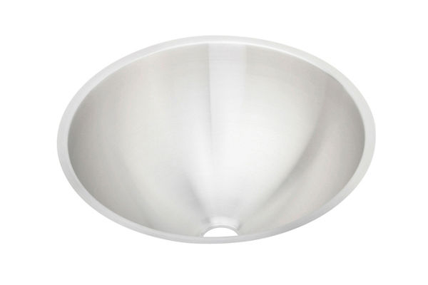 "Elkay Asana Stainless Steel 18-3/8"" x 18-3/8"" x 8"", Single Bowl Undermount Bathroom Sink"