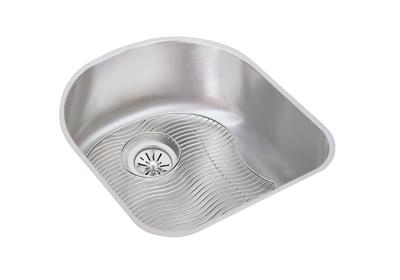 "Image for Elkay Lustertone Stainless Steel 18-1/2"" x 20"" x 7-1/2"", Single Bowl Undermount Sink Kit from ELKAY"