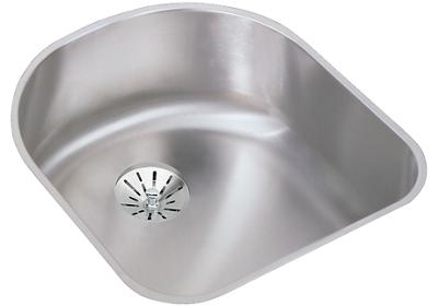 "Image for Elkay Lustertone Stainless Steel 18-1/2"" x 20"" x 7-1/2"", Single Bowl Undermount Sink with Perfect Drain from ELKAY"