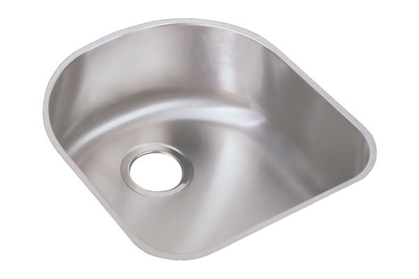 "Elkay Harmony Stainless Steel 18-1/2"" x 20"" x 7-1/2"", Single Bowl Undermount Sink Kit"