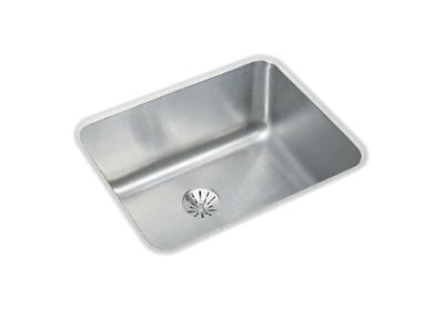 "Image for Elkay Lustertone Stainless Steel 20-1/2"" x 16-1/2"" x 7-7/8"", Single Bowl Undermount Sink with Perfect Drain from ELKAY"