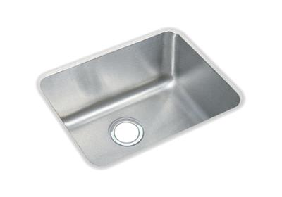 "Image for Elkay Gourmet Stainless Steel 20-1/2"" x 16-1/2"" x 7-7/8"", Single Bowl Undermount Sink from ELKAY"