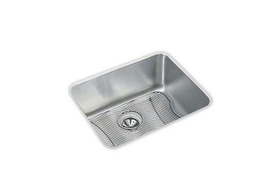 "Image for Elkay Lustertone Stainless Steel 23-1/2"" x 18-1/4"" x 10"", Single Bowl Undermount Sink Kit from ELKAY"