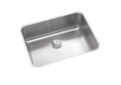 "Image for Elkay Gourmet Stainless Steel 23-1/2"" x 18-1/4"" x 7-1/2"", Single Bowl Undermount Sink with Perfect Drain from ELKAY"