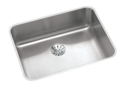 "Image for Elkay Lustertone Classic Stainless Steel, 23-1/2"" x 18-1/4"" x 4-3/8"", Single Bowl Undermount ADA Sink w/Perfect Drain from ELKAY"