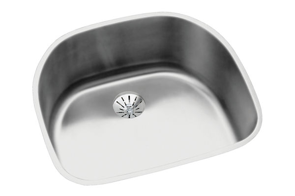 Harmony; (Lustertone;) Stainless Steel Single Bowl Undermount Sink