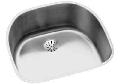 "Image for Elkay Lustertone Stainless Steel 23-5/8"" x 21-1/4"" x 10"", Single Bowl Undermount Sink with Perfect Drain from ELKAY"
