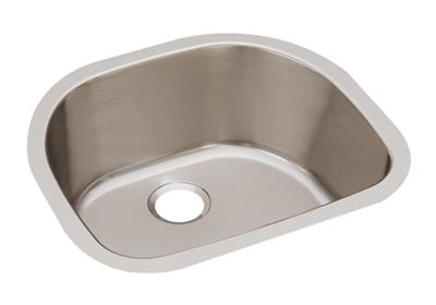 "Image for Elkay Lustertone Stainless Steel 23-5/8"" x 21-1/4"" x 7-1/2"", Single Bowl Undermount Sink from ELKAY"