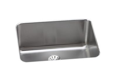"Image for Elkay Lustertone Classic Stainless Steel 25-1/2"" x 19-1/4"" x 10"", Single Bowl Undermount Sink with Perfect Drain from ELKAY"