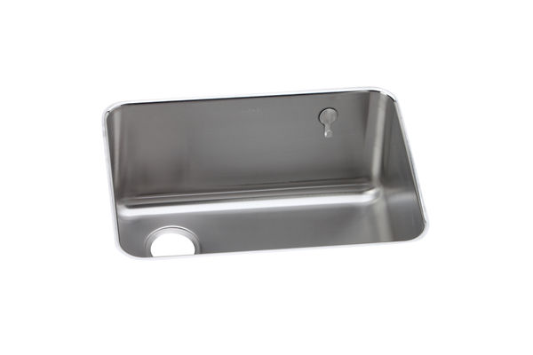 "Elkay Gourmet Stainless Steel 25-1/2"" x 19-1/4"" x 10"" Single Bowl Undermount Sink"