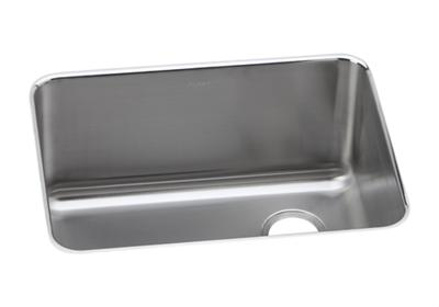"Image for Elkay Gourmet Stainless Steel 25-1/2"" x 19-1/4"" x 10"", Single Bowl Undermount Sink from ELKAY"