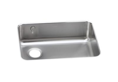 "Image for Elkay Gourmet Stainless Steel 25-1/2"" x 19-1/4"" x 8"", Single Bowl Undermount Sink from ELKAY"