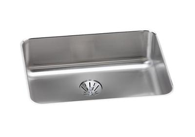 "Image for Elkay Gourmet Stainless Steel 25-1/2"" x 19-1/4"" x 8"", Single Bowl Undermount Sink with Perfect Drain from ELKAY"