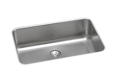 "Image for Elkay Lustertone Stainless Steel 26-1/2"" x 18-1/2"" x 8"", Single Bowl Undermount Sink with Perfect Drain from ELKAY"