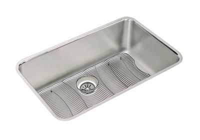 "Image for Elkay Lustertone Stainless Steel 30-1/2"" x 18-1/2"" x 10"", Single Bowl Undermount Sink Kit from ELKAY"