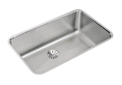 "Image for Elkay Lustertone Stainless Steel 30-1/2"" x 18-1/2"" x 10"", Single Bowl Undermount Sink with Perfect Drain from ELKAY"
