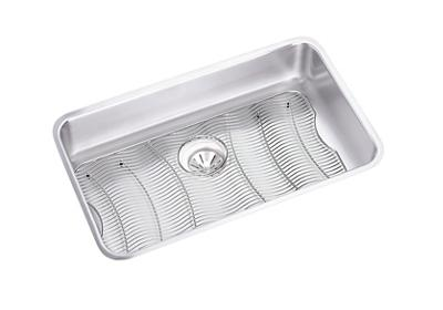 "Image for Elkay Lustertone Stainless Steel 30-1/2"" x 18-1/2"" x 7-1/2"", Single Bowl Undermount Sink Kit from ELKAY"