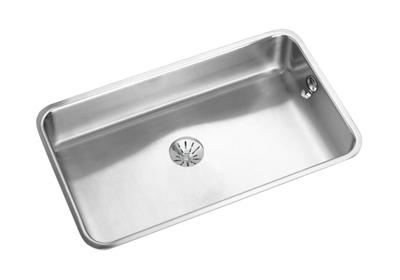 "Image for Elkay Lustertone Stainless Steel 30-1/2"" x 18-1/2"" x 7-1/2"", Single Bowl Undermount Sink with Perfect Drain from ELKAY"