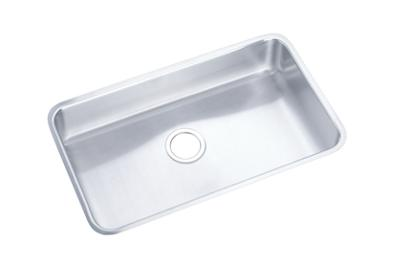 "Image for Elkay Gourmet Stainless Steel 30-1/2"" x 18-1/2"" x 7-1/2"", Single Bowl Undermount Sink from ELKAY"