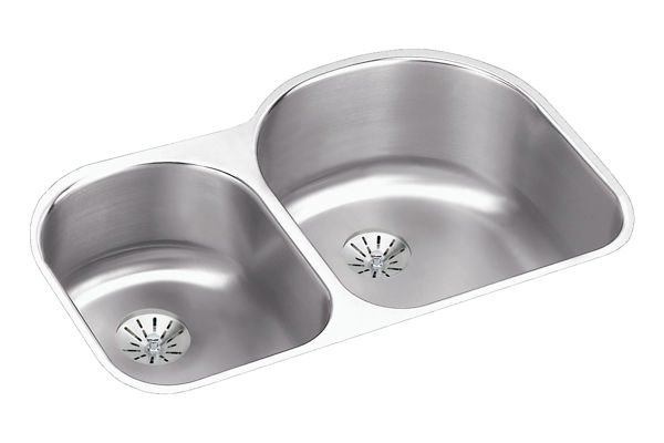 Harmony (Lustertone) Stainless Steel Double Bowl Undermount Sink