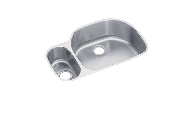 Harmony™ (Lustertone®) Stainless Steel Double Bowl Undermount Sink Kit